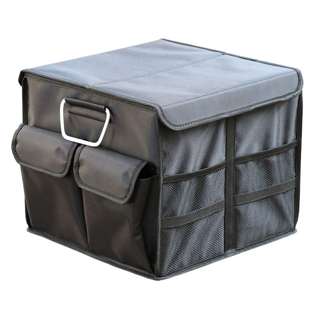Almacenamiento Carro De Cartón Caja De Almacenamiento De La Cajuela De Almacenamiento Del Coche Compartimento De La Sala De Gestión Caja De Carga De Almacenamiento Portátil Plegable For La Camioneta S: Amazon.es: