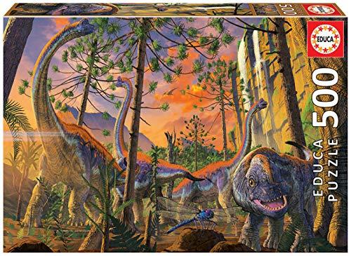 Educa Vincent HIE Curioso. Puzzle de 500 Piezas. Ref. 19001, Multicolor
