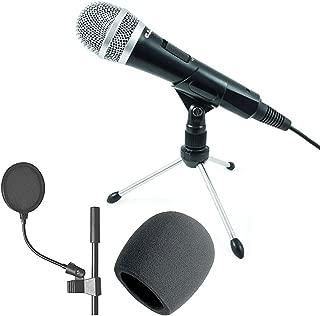 CAD U1 USB Dynamic Recording Microphone + 4-Inch Pop Filter + Foam - Top Value CAD Accessory Bundle!