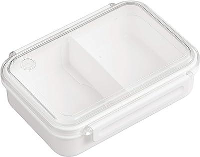 OSK 弁当箱 ランチボックス まるごと冷凍弁当 ホワイト 650ml [保存容器/冷凍OK/レンジOK/仕切付] 日本製 食洗機対応 PCL-3S