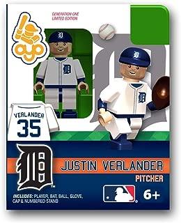 Oyo Sportstoys MLB Building-Toy Figure MLB Player: Detroit Tigers - Justin Verlander