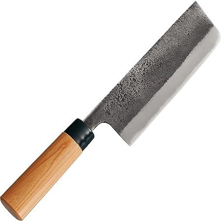 貝印 KAI 菜切り包丁 関孫六 金寿 本鋼 西型 165mm 日本製 AK5221