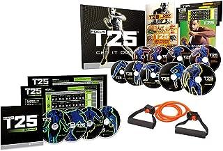Shaun T Focus T25 DVD Effective Workouts Fitness Burning Fat Calorie,Build Lean Muscle…
