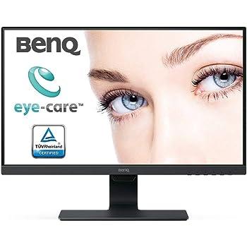 "BenQ GW2480 - Monitor de 23.8"" FullHD (1920x1080, 5ms, 60Hz, HDMI, IPS, DisplayPort, VGA, Altavoces, E2E, Eye-care, Sensor Brillo Inteligente, Flicker-free, Low Blue Light, antireflejos) - Color Negro"