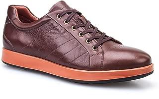 Cabani Bağcıklı Günlük Erkek Ayakkabı Taba Analin Deri