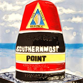 Outermost Point Buoy Key West Florida Tile Ceramic Wall Art