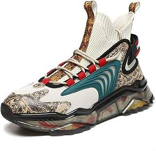 TFNYCT - Scarpe da ginnastica da uomo, alla moda, casual, sportive, da jogging, corsa, camminate, traspiranti, comode, ant...