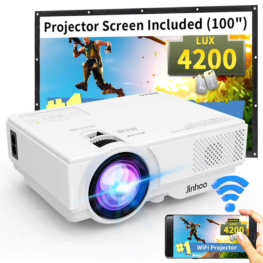 Projector Jinhoo Supported Lifetime Compatible