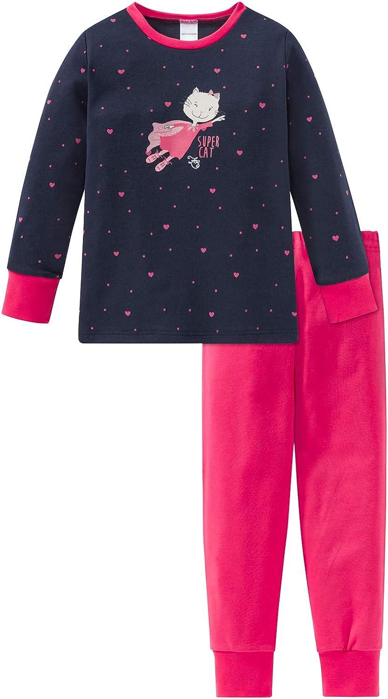 Schiesser MD Schlafanzug Lang Set di Pigiama Bambina