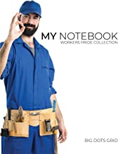 My NOTEBOOK: Dot Grid Workers Pride Collection Notebook for Plumber | 101 Pages Dotted Diary Journal Large size (8.5 x 11 ...