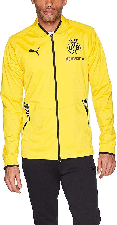 PUMA Men's BVB Stadium Super-cheap JKT Vent Logo W o Sponsor Thermo-r Max 71% OFF