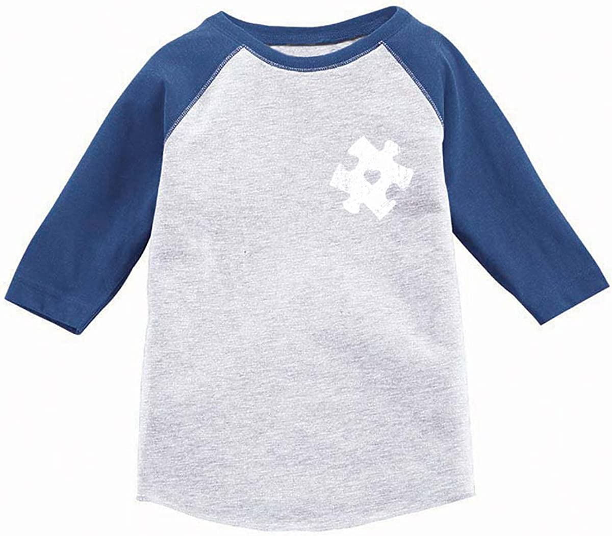 Awkward Styles Autism Shirts for Boys Autism Shirts for Girls 3/4 Sleeve Jersey Tee