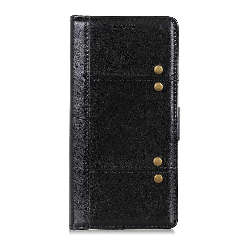 調停する誘発する資源OMATENTI Huawei Mate 20 Pro ケース, 簡約風 軽量薄型 良質 PU レザー 財布型 ビジネス ケース, 衝撃吸収 液晶保護 カード収納 横置きスタンド機能付き マグネット開閉式, 黒