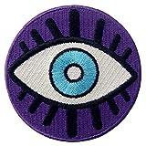 cuiyoush Fashion Evil Eye Mano Elefante Ciondolo Portachiavi Borsa Portachiavi Distintivo Decor 1#