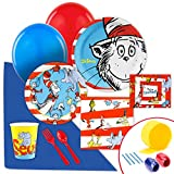 BirthdayExpress Dr Seuss Party Supplies - Value Party Pack Bundle