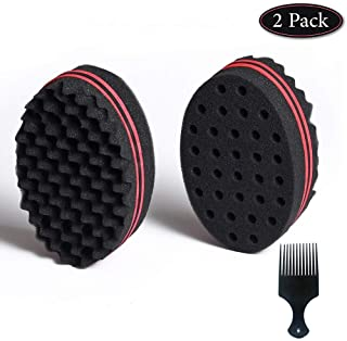 Magic Twist Hair Sponge, Barber Hair Brush Sponge, Styling Tool For Afro Curl, Coils,..