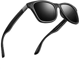 偏光 サングラス メンズサングラス UV400 紫外線カット レディースサングラス スポーツサングラス 軽量 自転車 釣り テニス スキー ランニング ゴルフ ドライブ 2150