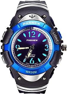 Boys Watches Waterproof Sports Analog Digital LED Backlight Kids Wrist Watch Children Gifts 316G