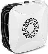 LQ&XL Mini Calefactor Cerámico 700W Calentador de Espacio Eléctrico Portátil Personal Protección de Sobrecalentamiento para Cuarto/Baño/Oficina Blanco