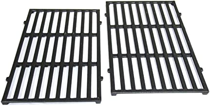 Hongso 7637 17.5 Inches Cast Iron Grid Grates Replacement Part for Weber 46010074, Spirit 200 Series, Spirit E-210, Spirit S-210 Cooking Gas Grills (with Front-Mounted Control Panels), PCG637