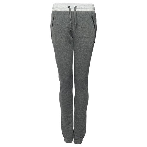 79bf9a8a7fd Slazenger Ladies Women Jog Pants Sweatpants Gym Tracksuit Jogging Pants  Trousers with Cuffed Hem and Zip