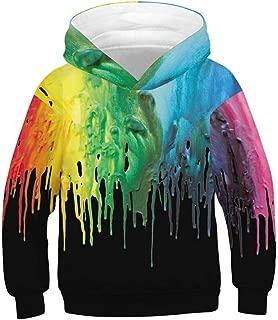 Boys Girls 3D Printed Cool Galaxy Hoodie Kids Hooded Pullover Sweatshirt
