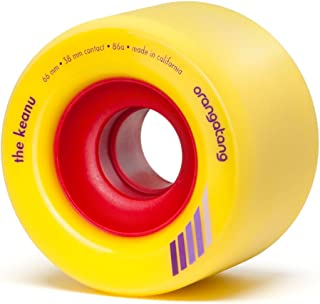 Orangatang Keanu 66 mm Freeride Longboard Skateboard Wheels (Set of 4)