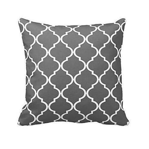 Coussin Noir et Blanc Design: Amazon.fr