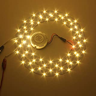 Bombilla Led Inteligente Bajo Consumo33W 5730 Smd Led Double Panel Circles Annular Ceiling Light Fixtures Board Lamp Led Panel Lights