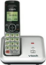 VTech CS6419 DECT 6.0 Cordless Phone with Caller ID, Expandable up to 5 Handsets, Wall-Mountable, Silver/Black photo