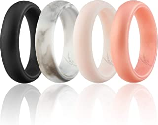 silicone rubber wedding bands