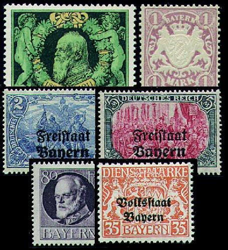 Goldhahn 50 Bayern - Briefmarken für Sammler [Spielzeug]