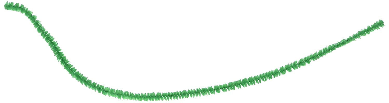 Darice 10166-60 Chenille Stems Emerald 6Mmx12In 100Pc Bx 100 Piece (6mm x 12in),