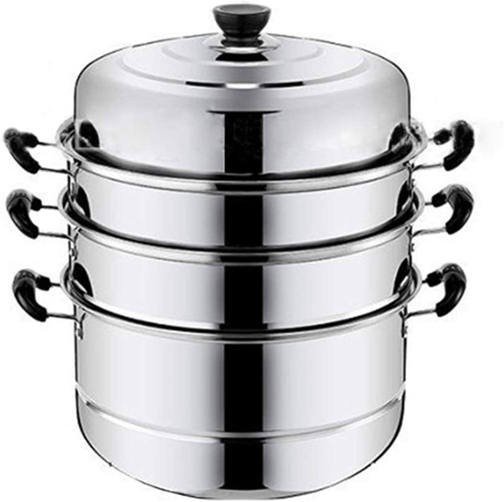 3-tier Steamer Cookware Cooker Pot Thicken Sale special price Special price Boi Steam
