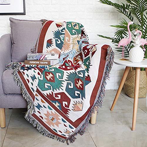 XUNMAIFLB Hohe QualitätDecke Schal Wendedecke, Sofaüberwurf, Tagesdecke Polyester, Überwurf, Decke, Bettüberwurf, Möbel Tuch für Sofa