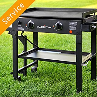 Flat Top Griddle Grill Assembly