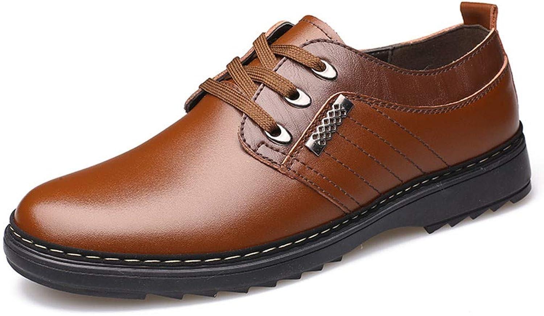 AKJC Herren Businessschuhe braun Handmade Men's Dress schuhe schuhe schuhe Business Leather Men's schuhe Casual Design Men's Flat schuhe Men's Oxford schuhe  ab79ed