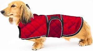 Geyecete Warm Thermal Quilted Dachshund Coat