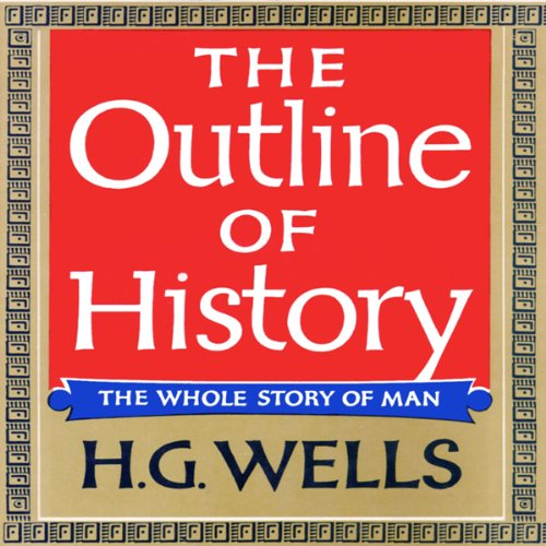 The Outline of History audiobook cover art