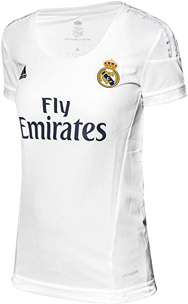 adidas Real Madrid CF Home Womens Jersey-White