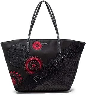 Luxury Fashion   Desigual Womens 19WAXPD9BLACK Black Tote   Fall Winter 19