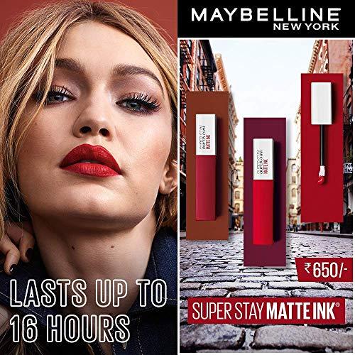 MAYBELLINE(メイベリン)SPステイマットインクリップ口紅定番色15ヌードなローズ5ミリリットル(x1)
