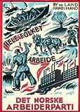 Vintage Norweger Politik alle die Menschen, zu. Town und