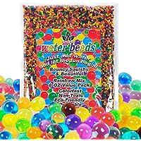 AINOLWAY Water Beads Rainbow Mix (Half Pound) Jelly Crystal Balls