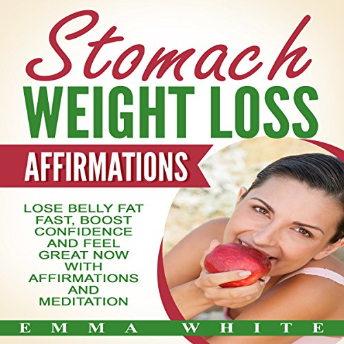 Stomach Weight Loss Affirmations audiobook cover art