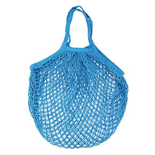 XKMY Bolsa de malla para ahorrar espacio, bolsa de malla de tortuga, bolsa de hombro, bolsa de almacenamiento de frutas, bolsa reutilizable de 50 g (color: E)