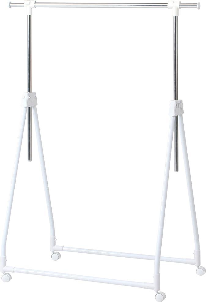 作るペイント輝度不二貿易 カラー 折りたたみ 収納 ハンガー WH ホワイト 87705