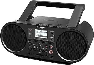 Sony 索尼 CD收音机 Bluetooth/FM/AM/支持广播 学习功能 电池驱动 黑色 ZS-RS81BT