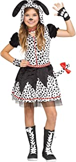 Spotted Sweetie Girls Child Dalmatian Costume