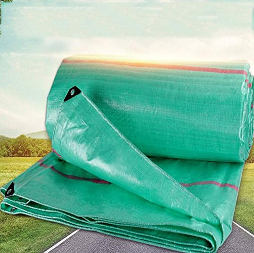 MYYDD Bache extérieure imperméable en Plastique de PE de bache Durable imperméable en Plein air de Feuille résistante imperméable de Feuille de Prougeection Solaire,4X8m